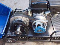Мотобуксировщик лидер-1 вариатор привод