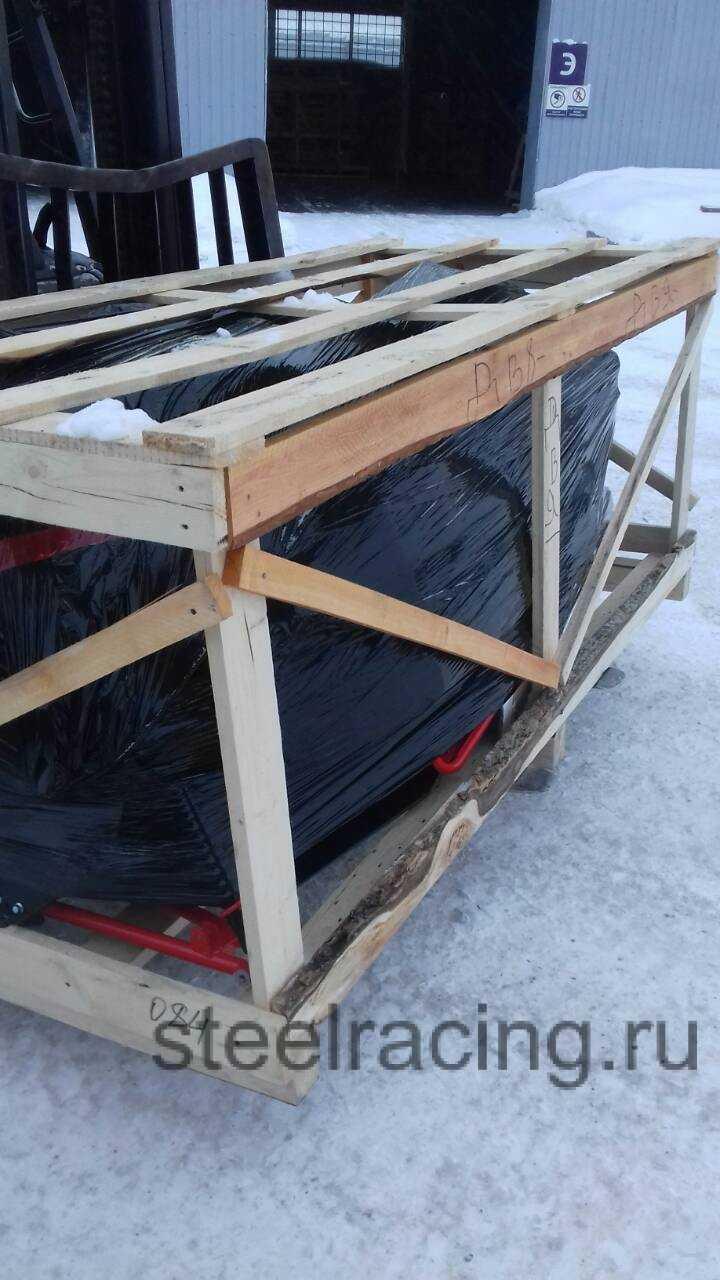 Ирбис Тунгус 600 в коробке на транспортной компании 1