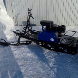 Мотобуксировщик ЛИДЕР-СИГМА  с лыжным модулем в Оренбург