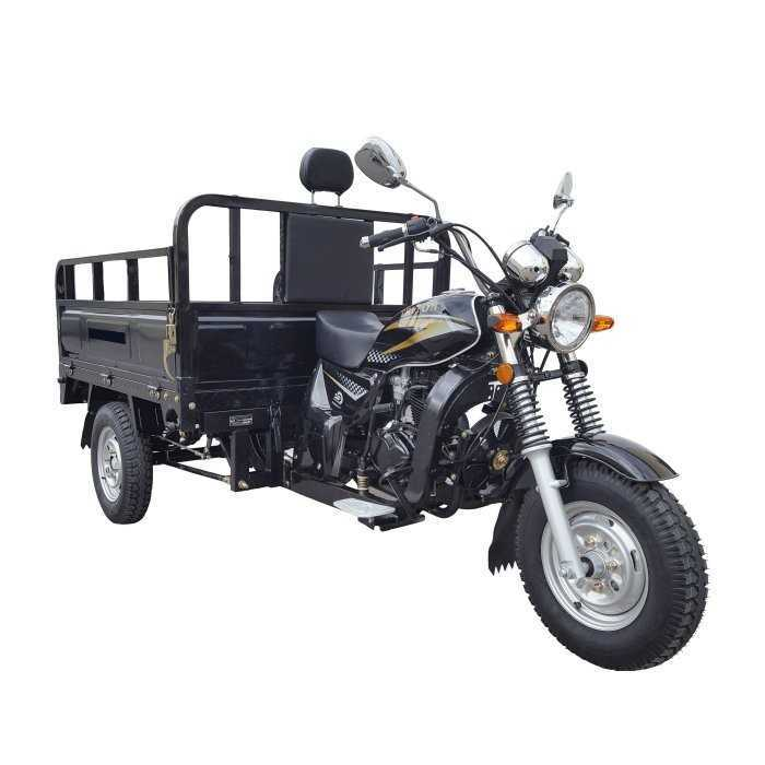 Мотороллер грузовой Тритон черный