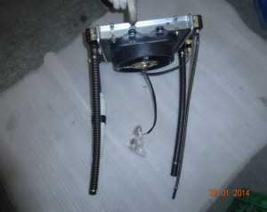 35. Установить радиатор с вентилятором
