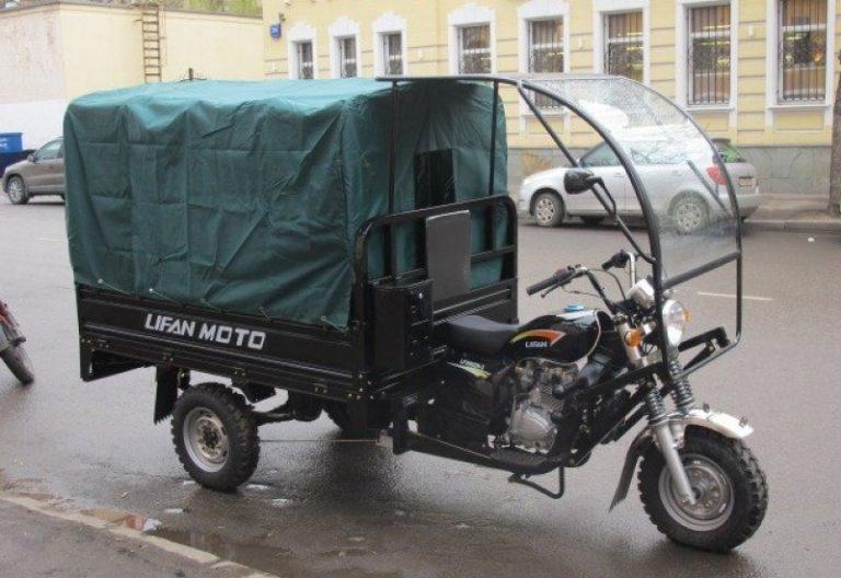 Кабина для трицикла Лифан Аякс 5
