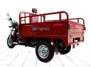 Мотороллер Тритон красный 06