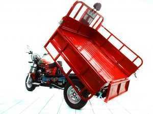 Мотороллер Тритон красный 08