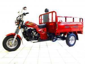 Мотороллер Тритон красный 09
