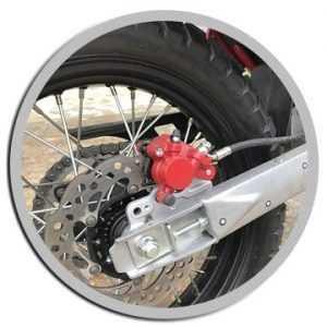 Диски и шины мотоцикла Минск 400