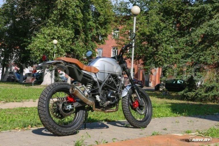 Мотоцикл Минск SСR 250 01