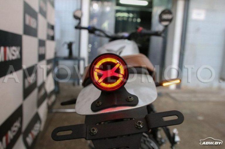 Мотоцикл Минск SСR 250 02