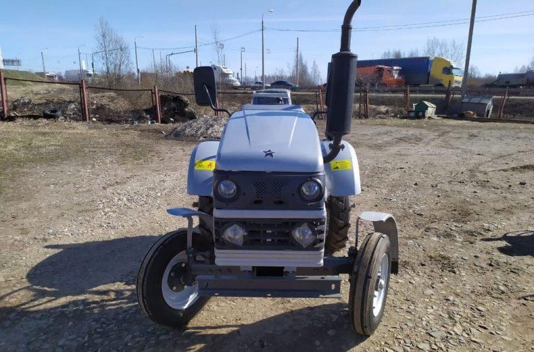 минитракор скаут т-15 01