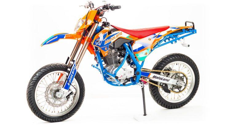 Мотоцикл Кросс CRF250 MOTARD-STUNT