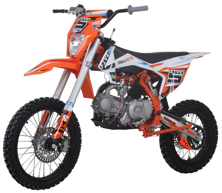 REGULMOTO FIVE YX125 EA New 02