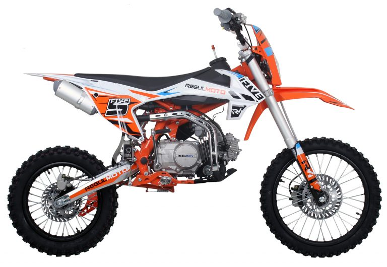 REGULMOTO FIVE YX125 EA New 06