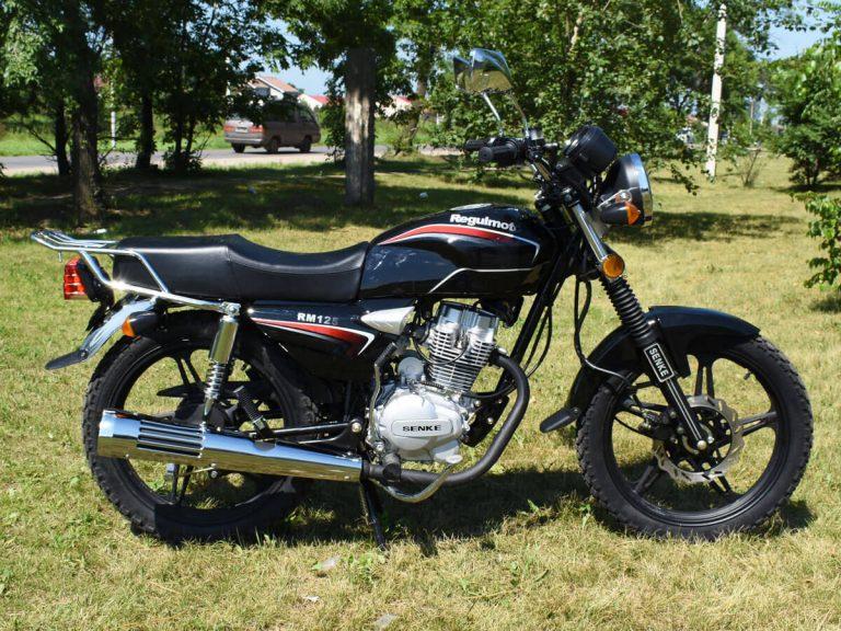 Регулмото мотоцикл RM 125 06
