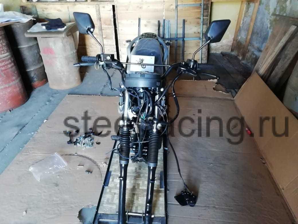 09 Мотоцикл ЗИД YX250 в Магадан