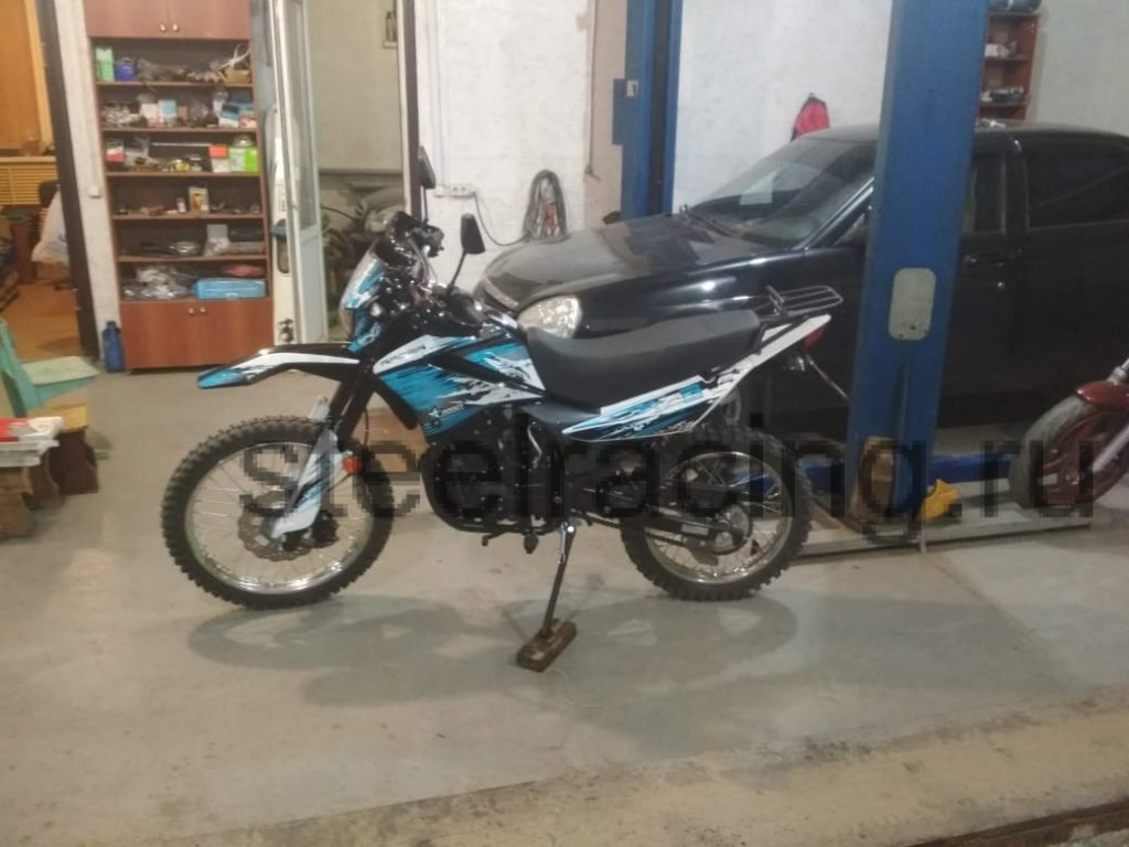 Мотоцикл Racer Panther RC300-GY8X 03