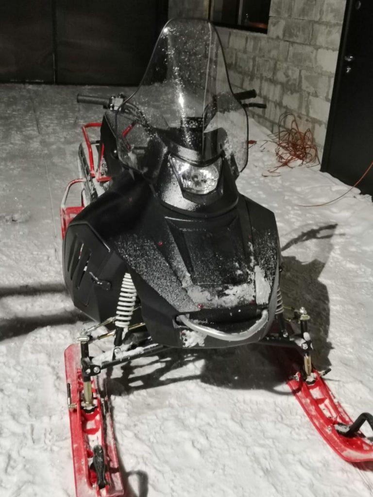 Снегоход 600 02