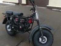 Мотоцикл внедорожный СКАУТ-4-2