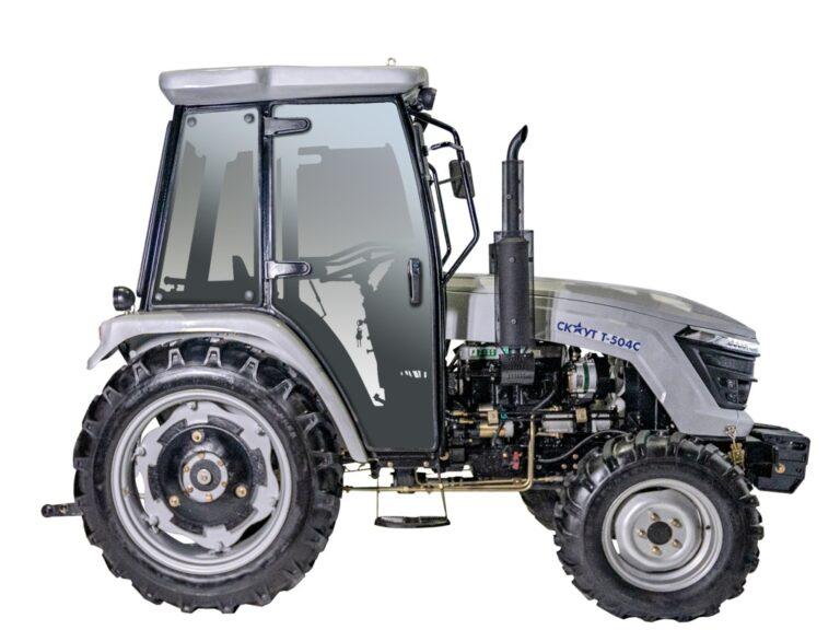 Трактор СКАУТ T-504С 01 фото