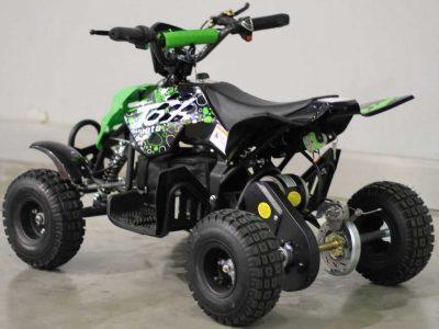 Детский электрический квадроцикл MOTAX 500W черно-зеленый